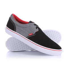 Кеды кроссовки низкие Huf Genuine Black/Chambray