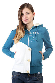 Толстовка женская Picture Organic Bright Sweat Petrol Blue