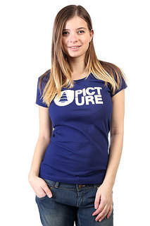 Футболка женская Picture Organic Basement Plush Girl Dark Blue