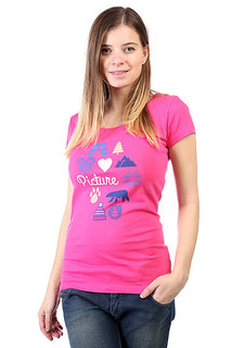 Футболка женская Picture Organic Paradise Pink