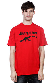 Футболка Fallen Skateistan S/S Red/Black