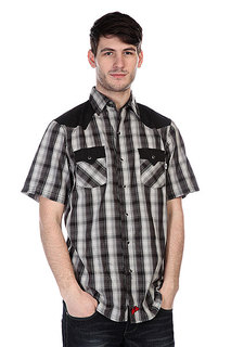 Рубашка в клетку Independent Ch Winchester Collared Grey Plaid