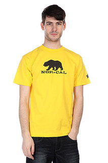 Футболка Nor Cal Black Bear Yellow