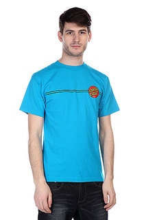 Футболка Santa Cruz Classic Dot Turquoise