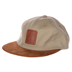 Бейсболка Huf Ascent 6 Panel Tan