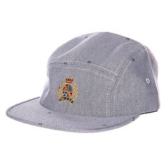 Бейсболка Huf Crested Volley Gray