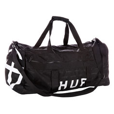 Сумка дорожная Huf X Thrasher Duffel Bag Black
