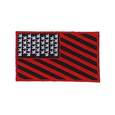 Нашивка Dekline Flag Black/Red