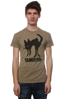 Футболка Foundation F-Ink Cat Light Olive