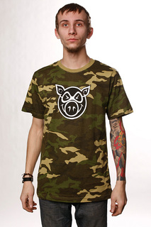 Футболка Pig Camo Pighead Camo