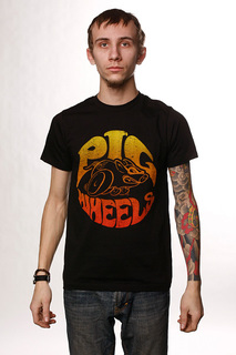 Футболка Pig Super Pig V.2 Black