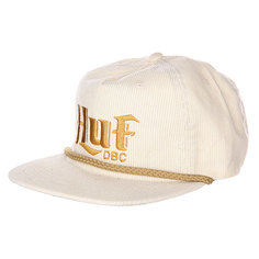 Бейсболка Huf OFW Authentic Cord Off White