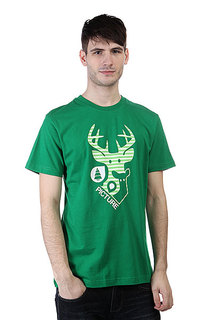 Футболка Picture Organic Deer Dark Green