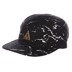 Бейсболка Huf Splatter Metal Triangle Volley Black