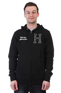 Толстовка Huf Huf Usa Dbc Zip Up Premium Hood Black