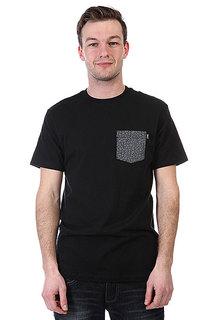Футболка Huf Quake Pocket Black