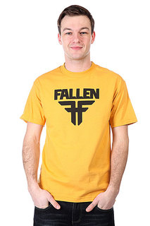Футболка Fallen Insignia Logo Must/Black