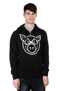 Толстовка Pig Basic Black/White