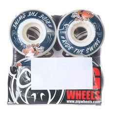 Колеса для скейтборда для скейтборда Pig #ride Blue 101A 52 mm