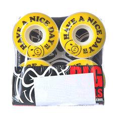 Колеса для скейтборда для скейтборда Pig Nice Day Yellow 101A 51 mm
