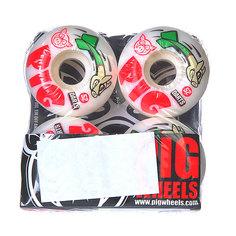 Колеса для скейтборда для скейтборда Pig Darts White 101A 52 mm