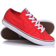 Кеды кроссовки низкие Dekline Forty 5 Red