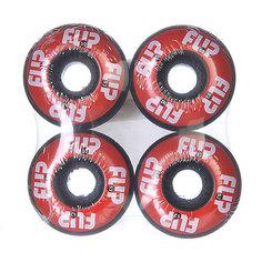 Колеса для скейтборда для скейтборда Flip Odyssey Logo Red 99A 52 mm