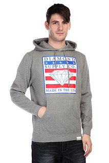 Кенгуру Diamond Made In The USA Hoodie Heather