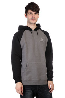 Кенгуру Huf Triple Triangle Raglan Pullover Hoodie Black/Charcoal
