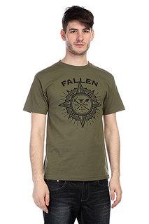 Футболка Fallen Rambler Shirt Army/Black