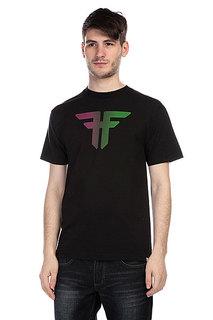 Футболка Fallen Trademark Black/Purple