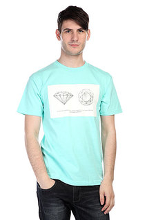 Футболка Diamond Trademark Tee Blue
