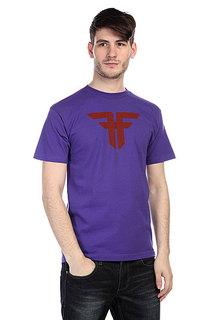 Футболка Fallen Trademark Purple/Red