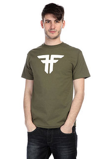 Футболка Fallen Trademark Army/White