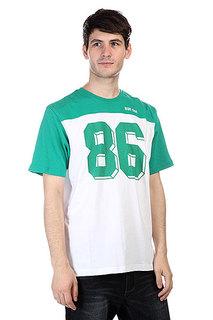 Футболка Huf Franco S/S Football Jersey Green