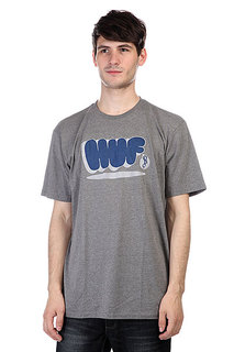 Футболка Huf Bubbles Tee Gray