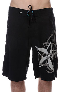 Шорты пляжные Nor Cal Ritz Boardshort Black