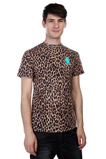 Футболка Grizzly Eli Reed Cheetah Griptape Tee Cheetah