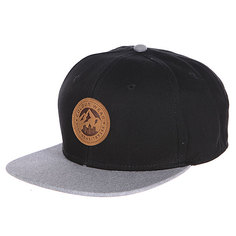 Бейсболка CLWR Badge Cap Black