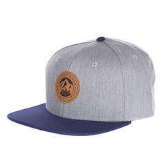 Бейсболка CLWR Badge Cap Grey Melange