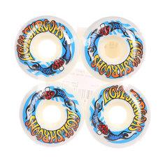 Колеса для скейтборда для скейтборда Flip Love Shrooms White/Multicolor 99A 54 mm