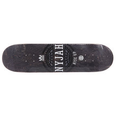 Дека для скейтборда для скейтборда Element Nyjah Icon Black 31.75 x 8.0 (20.3 см)