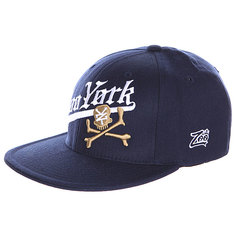 Бейсболка Flexfit Zoo York Gothic Athletic Hat Navy/Black