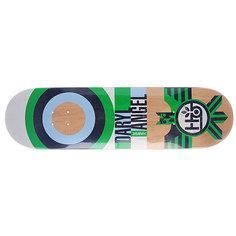 Дека для скейтборда для скейтборда Habitat Su5 Angel Raptor Green 32.5 x 8.375 (21.3 см)