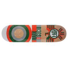 Дека для скейтборда для скейтборда Habitat Su5 Sucui Raptor Orange 32.5 x 8.25 (21 см)