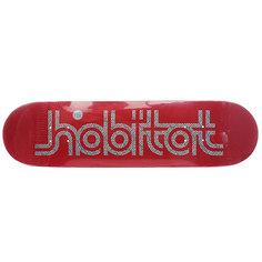 Дека для скейтборда для скейтборда Habitat Su5 Ellipse Red 32.25 x 7.875 (20 см)