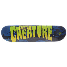 Дека для скейтборда для скейтборда Creature Sm Stained Blue 31.6 x 8.0 (20.3 см)
