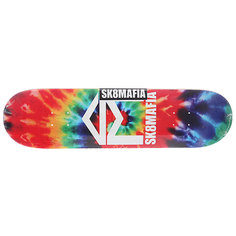 Дека для скейтборда для скейтборда Sk8mafia House Logo 2 Tie Dye 32.12 x 8.25 (21 см)