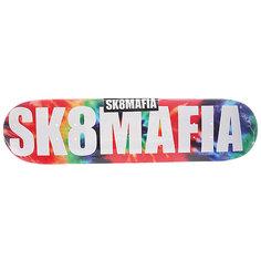 Дека для скейтборда для скейтборда Sk8mafia Og Logo Tye Dye 31.75 x 7.75 (19.7 см)