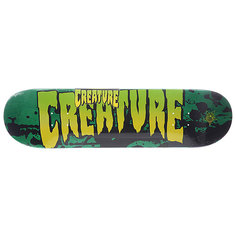 Дека для скейтборда для скейтборда Creature Creature Md Stained Green 31.25 x 8.25 (21 см)